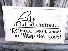 Life is full of choices! Vinyl Project, Nic-Nack Vinyl Creations