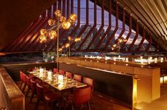 Bennelong Restaurant located in the Sydney Opera House.  Wonderful lunch w/the family after a long, long flight for Ted, Dan & I - joining Caitlin at the end of her semester abroad.  One of the most memorable lunches in my life!