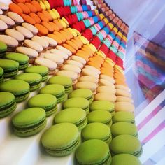 """""""Hi. I want my ashes spread here. (Lette Macarons, Fashion Island - Newport Beach, CA)"""" -- Wow...looking at this gorgeous display, I might just agree! See 'lette's site here: http://www.lettemacarons.com/"""
