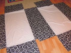 crib skirt diy @ DIY Home Ideas - could work too for toddler beds :)