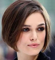short haircuts round face overweight - Google Search