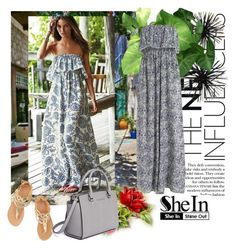 """""""shein"""" by sejla15 ❤ liked on Polyvore featuring mode, Ancient Greek Sandals, MICHAEL Michael Kors en Sheinside"""