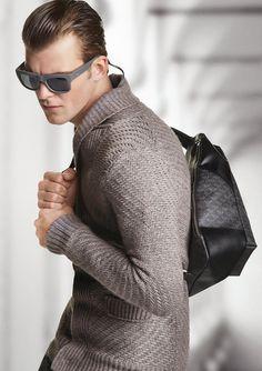 Patrick Kafka for Emporio Armani   Fashion Inspires   Model Diary