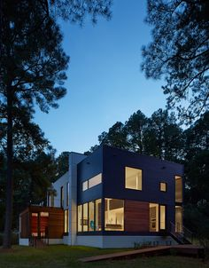 Galleria di Casa sulla solitudine Creek / Robert Gurney Architetto - 3