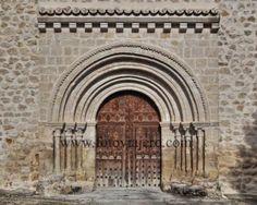 Viana de Mondéjar, La Alcarria, Guadalajara Portada Románica, iglesia parroquial de Nuestra Señora de la Zarza #Viana #Mondéjar #Guadalajara #románico #LaAlcarria