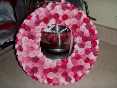 valentine wreath - Scrapbook.com