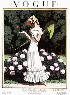 Vogue, April 1924. One of my favourites.