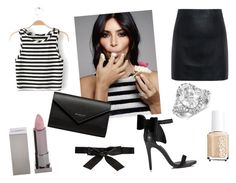 """""""Like a Star"""" by elena-anders on Polyvore featuring мода, Lipstick Queen, Blue Nile, McQ by Alexander McQueen, Essie, Miss Selfridge, Balenciaga и Alice + Olivia"""