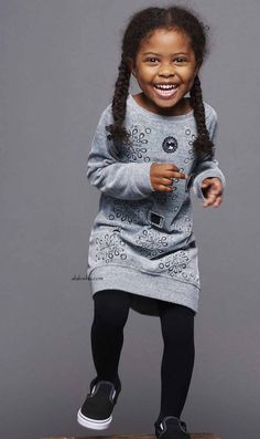 ALALOSHA: VOGUE ENFANTS: New Season FW'17: Little princesses take an exciting look with Little Marc Jacobs outfits
