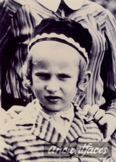 Photo taken before deportation. Moyshe was deported to Auschwitz and gassed to death at age 10.