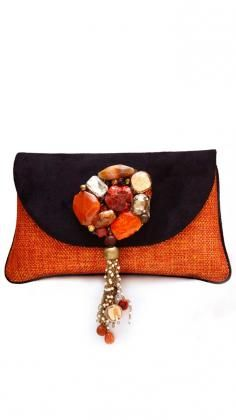 Beautiful Designer Clutch Bags and Purses from Indian Fashion ...