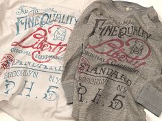 Hunky Dory Nagoya Blog | ハンキードリー名古屋: Riding High / Liberty Football 3/4 Tee