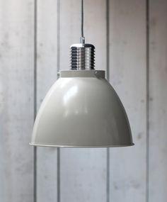 Meriden Factory style pendant light