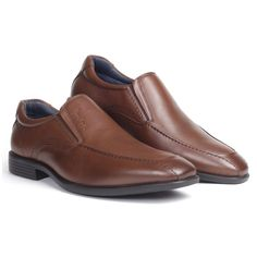#PierreCardin presents from its wide range of #formal #footwear, sleek slip-on shoe. Crafted in natural l#eather pashmina, this smart and sleek style comes with cushioned collars and elastic go around guaranteeing day-long comfort for your feet. The elongated upper structure and lightweight build make this style essential for all your work trips. #menstyle #menfashion #shoponline #latest #2020 #formalbrown #brown #formalshoesformen