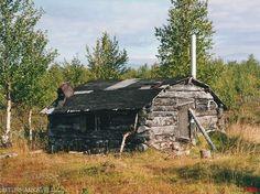 An old cabin in Finnish lapland. My favourite one.  www.patikka.net