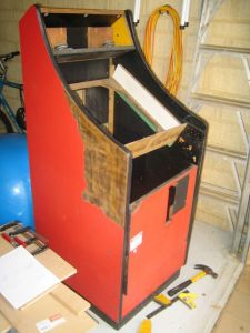 Captivating Aussie Lowboy Cabinet   Completed! | Lowboy Arcade Proyect | Pinterest |  Lowboy And Arcade