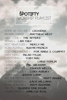 Christian Music Playlist, Christian Songs List, Christian Music Quotes, Best Worship Songs, Worship Songs Lyrics, Music Mood, Mood Songs, Playlist Names Ideas, Throwback Songs