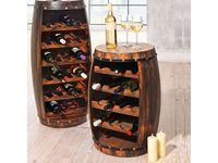 Dieses rustikale Weinfass bietet Euch eine ausgesprochen originelle Möglichkeit, Eure Weinvorräte zu lagern. #Wohnideen #OBI