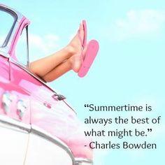 Love summertime!