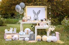 Check out this Country Bunny Party at Kara's Party Ideas! Peter Rabbit Birthday, Peter Rabbit Party, Bunny Birthday, 1st Birthday Girls, Bunny Party, Easter Party, Ideas Actuales, Shared Birthday Parties, Kids Party Themes