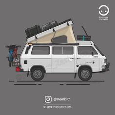 KombiT1: Volkswagen T3 Westfalia @_campervanculture.com_