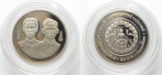 1995 Thailand THAILAND 20 Baht 1995 MINISTRY OF FOREIGN AFFAIRS Cu-Ni Proof SCARCE! # 95724 Proof