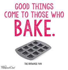 What's cookin' in your Brownie Pan?  Get a FREE 28 page e-cookbook full of recipes for breakfast, lunch dinner, snacks, and sweet treats with the purchase of a Brownie Pan. http://new.pamperedchef.com/pws/jengrimes/product/1544