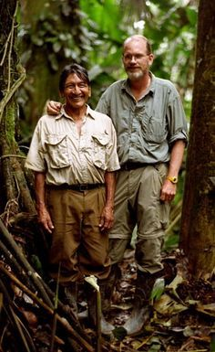 "Mincayany (left) and Steve Saint from the Documentary ""The End of The Spear"" A 2006 docudrama film that recounts the story of Operation Auca, in which five American Christian missionaries attempted to evangelize the Huaorani (Waodani) people of the jungle of Ecuador. Based on actual events from 1956 in which five male missionaries were speared by members of the Waodani tribe."