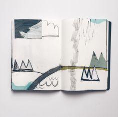 « Separated by water #art #abstractart #contemporaryart #minimal #TateSketchbook #sketch #drawing #illustration #natureinspired #dsart #dslooking #instaart… »