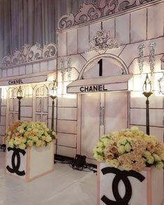 "Entrance – ""I Do"" ღ – chanel Chanel Birthday Party, Chanel Party, 50th Birthday Party, Chanel Wedding, 36th Birthday, Paris Party, Paris Theme, Chanel Bridal Shower, Chanel Decor"