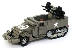 M16 half track lego