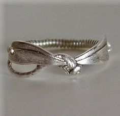 Petite Dragonfly Ring by threebirdsdesigns on Etsy - so beautiful and delicate