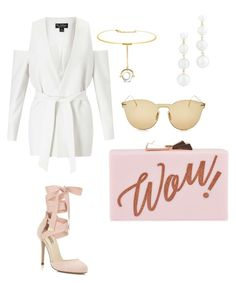 """""""Untitled #586"""" by jenn-m31 ❤ liked on Polyvore featuring Miss Selfridge, Rebecca Minkoff, Illesteva and Ted Baker"""
