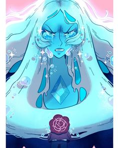"""""""You cannot fathom how much I've mourned, what thousands of years of grief has done to me!"""" . . I absolutely love blue diamond and her…"""