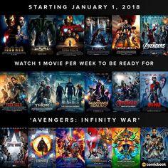 Marvel Movie List in order