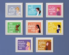 """Young Women Value Princess Posters """"Your Happily Ever After"""" Young Women in…"""