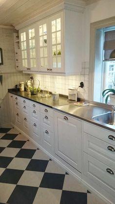 Marbodal Lindö ek kritvit Interior Design Videos, Interior Design Career, Restaurant Interior Design, Modern Interior Design, Kitchen Interior, New Kitchen, Interior Design Living Room, Kitchen Decor, Kitchen Cabinet Design