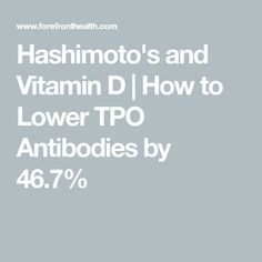 Suffer from Hashimoto's thyroiditis? Learn a little trick with Hashimoto's and Vitamin D that can help cut your TPO thyroid antibodies in half. Low Thyroid, Thyroid Health, Hypothyroidism Exercise, Hashimoto Thyroid Disease, Autoimmune, Natural Healing, Fertility, Health And Wellness, Interesting Stuff
