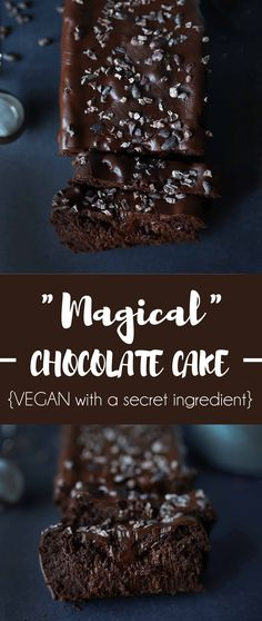 Magical moist chocolate cake with a secret ingredient