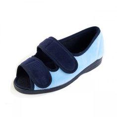 d04c5554829 Doreen Ladies Extra Wide Lightweight Slippers Flats
