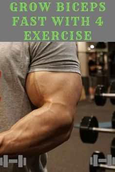 You want to Fast Growth Biceps check this article Healthy To Fitness - . 4 Types To Fast Growth Biceps Development Biceps Workout Best Workout Routine, Workout Guide, Chest Workouts, Gym Workouts, Bicep Muscle, Biceps Workout, Forearm Workout, Muscle Building Workouts, Shoulder Workout