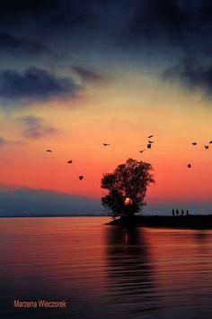Amazing Sunsets, Beautiful Sunset, Amazing Nature, Beautiful World, Beautiful Places, Beautiful Pictures, Sunset Wallpaper, Nature Wallpaper, Image Nature