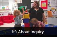 It's About Inquiry: video series about play based learning