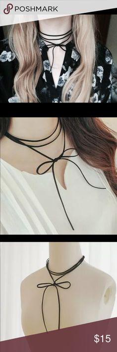 Black bow chocker Black bow chocker Jewelry Necklaces