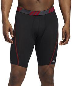Adidas Logo, Adidas Men, Boxer Briefs, Mesh Fabric, Cold, Athletic, Fitness, Sports, Black