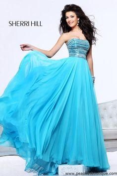 Sherri Hill Prom Dresses and Sherri Hill Dresses 1539 at Peaches Boutique