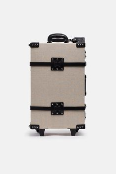 6ca3a183ac2b Steamline Luggage Steamline Luggage The Editor Series Linen And Leather  Stowaway  add Luggage Bags
