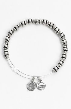 Alex and Ani 'Nile' Expandable Wire Bangle available at #Nordstrom