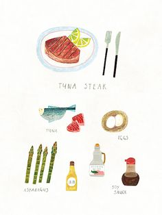 Tuna Steak / Kyobo Life on Behance
