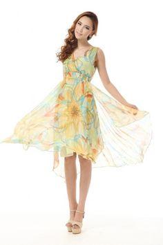 Charming #Yellow #Summer Floral #Womens Fancy #Maxi #Dress.#Women's #Fashion #Dresses #Cute #Casual #Summer,#Teens #Cheap #Sexy #Dresses #To #Wear #To A #Wedding #Website #Online,#short #Dresses2014. catchfad.com
